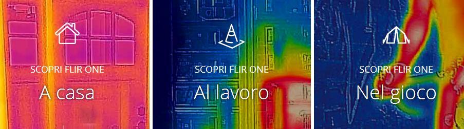 FlirOne immagine scansione termica 3