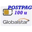 Globalstar SIM Postpagata 100 min