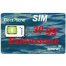 SIM card IsatPhone   Estensione validità 30 giorni