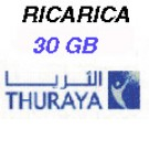 Thuraya IP+ ricarica 30GB