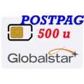 Globalstar SIM Postpagata 500 min