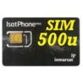 SIM card IsatPhone  con attivazione e 500 unità
