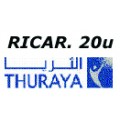 Thuraya Ricarica 20 unità invio PIN via email