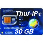 Thuraya IP+ 30 GB SIM card
