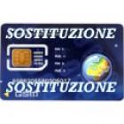 SIM Thuraya sostituzione SIM card Postpagata