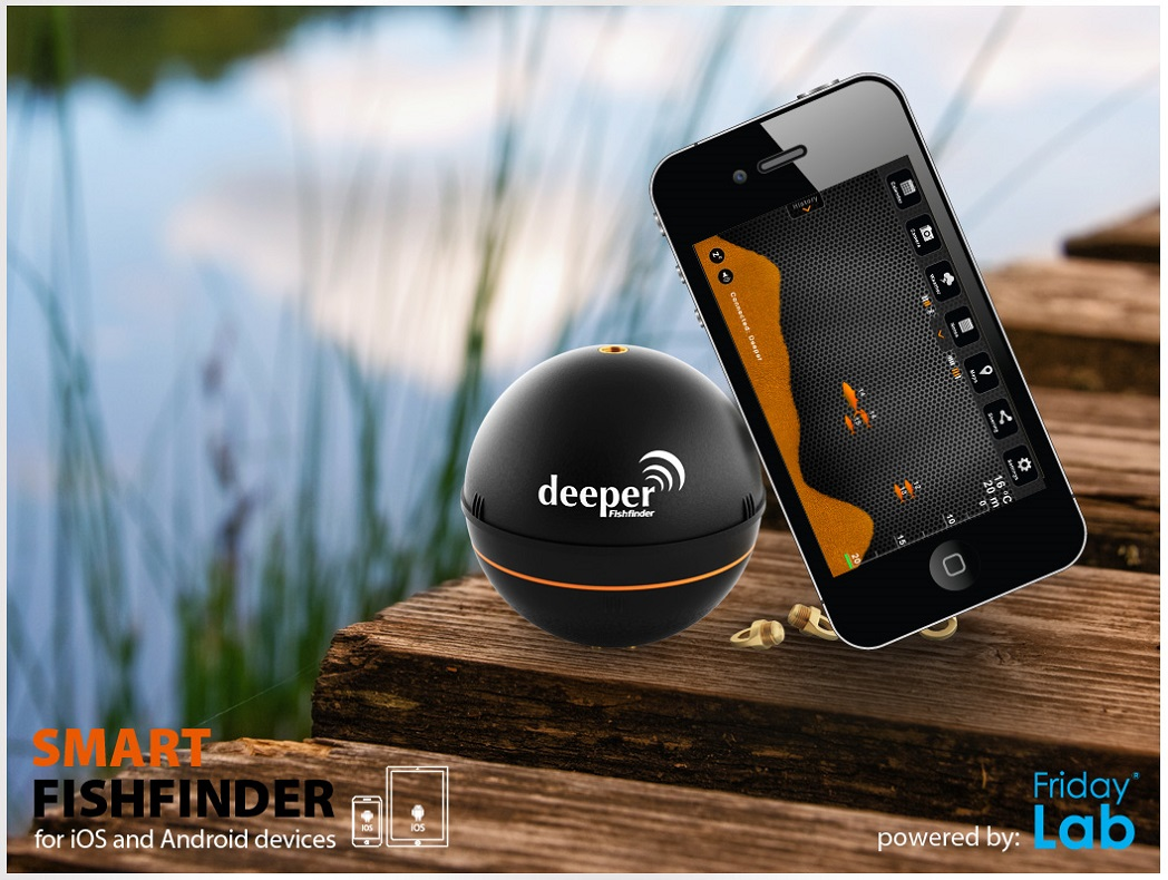 Deeper fishfinder per ipad iphone android immagini for Iphone fish finder