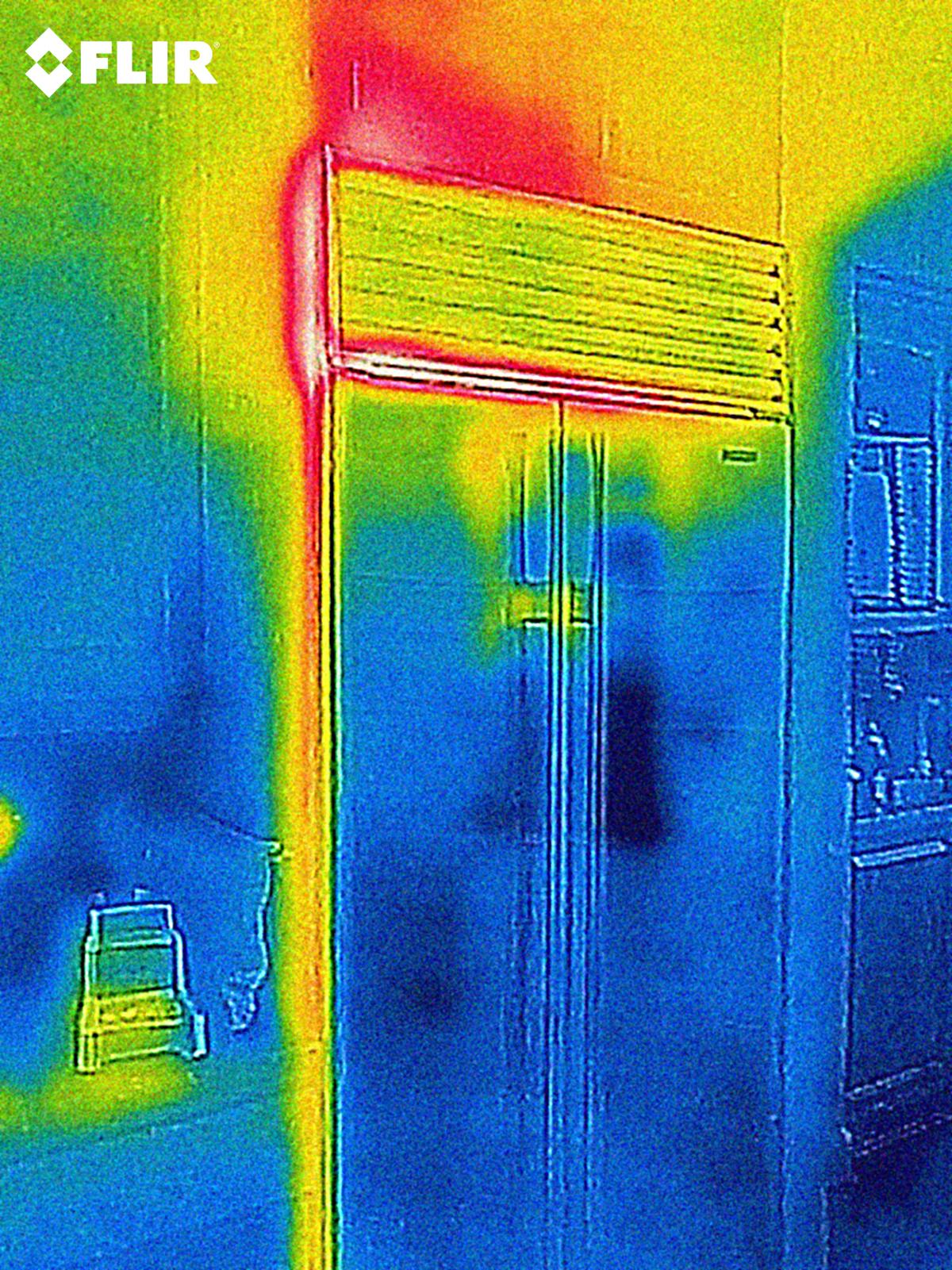 FlirOne immagine scansione termica 2