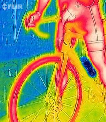 FlirOne immagine scansione termica