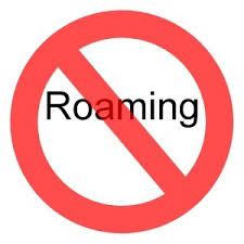 no roaming