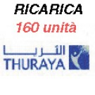 Thuraya IP+ ricarica 160 unità 32MB
