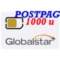 Globalstar SIM Postpagata 1000 min