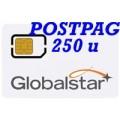 Globalstar SIM Postpagata 250 min