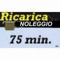 Iridium NOLEGGIO Ricarica 75 minuti - validità 1 mese, 4500 unità