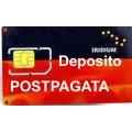 Iridium SIM postpagata VOCE- DEPOSITO