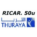 Thuraya noleggio: ricarica elettronica  50unità