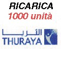 Thuraya IP+ ricarica 1000 unità 200MB