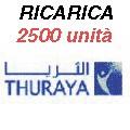 Thuraya IP+ ricarica 2500 unità 500MB